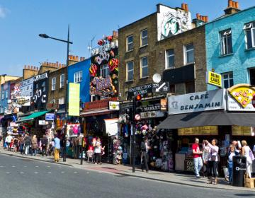 Camden Town London Neighborhood Photo