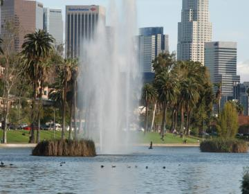 Echo Park Los Angeles Neighborhood Photo