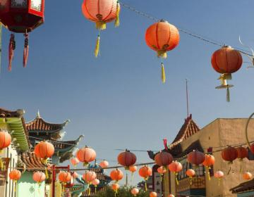 Chinatown Los Angeles Neighborhood Photo