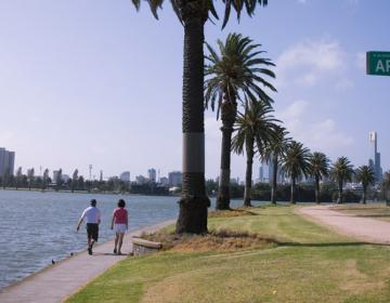 Albert Park Melbourne Neighborhood Photo