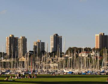 Rushcutters Bay Sydney Neighborhood Photo