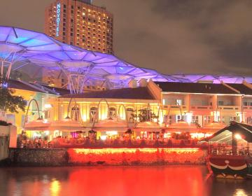 Clarke Quay Singapore Neighborhood Photo