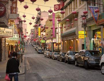 Chinatown San Francisco Neighborhood Photo