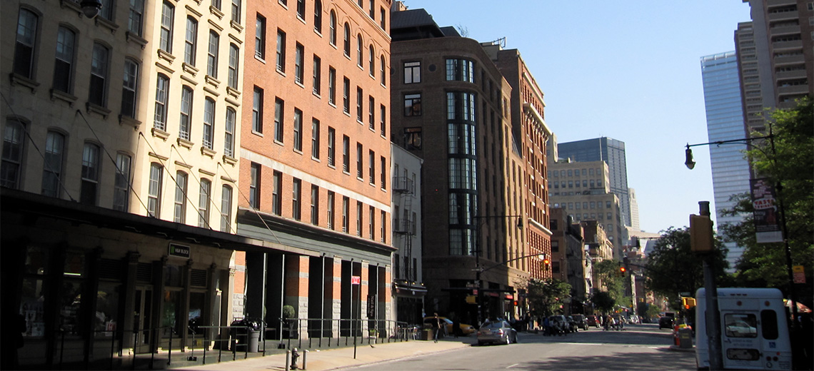 Tribeca New York City Neighborhood Photo