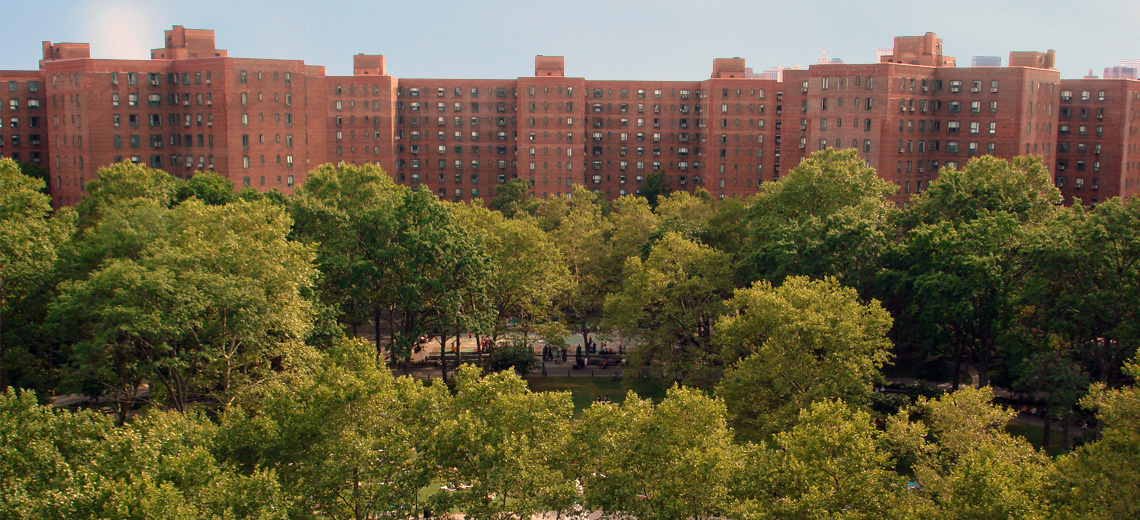 Stuyvesant Town New York City Neighborhood Photo