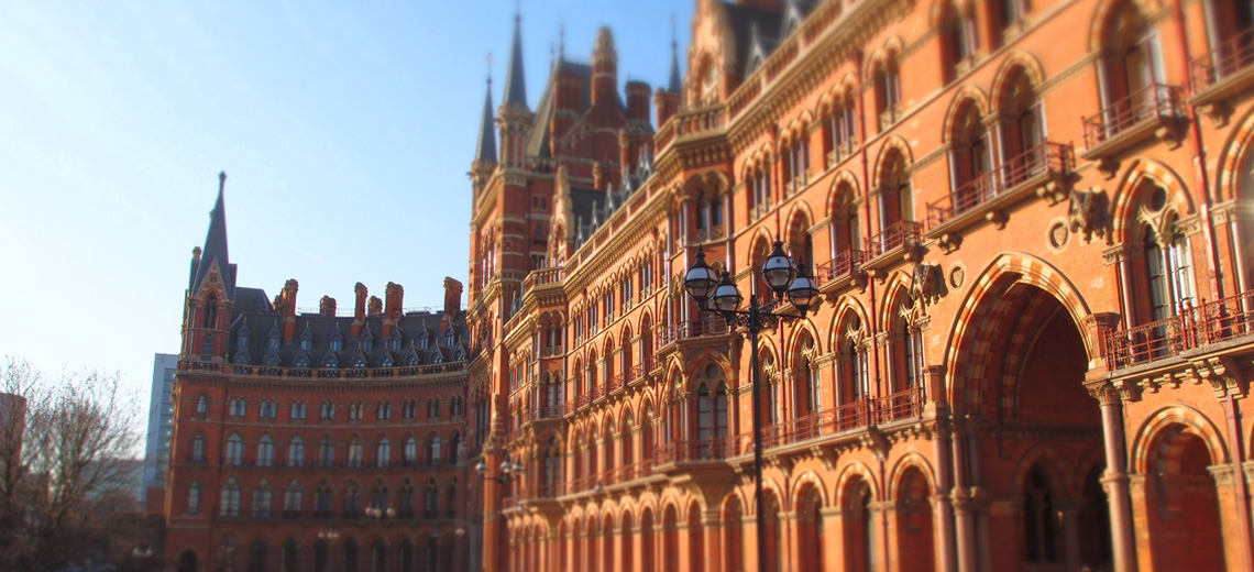 St Pancras London Neighborhood Photo