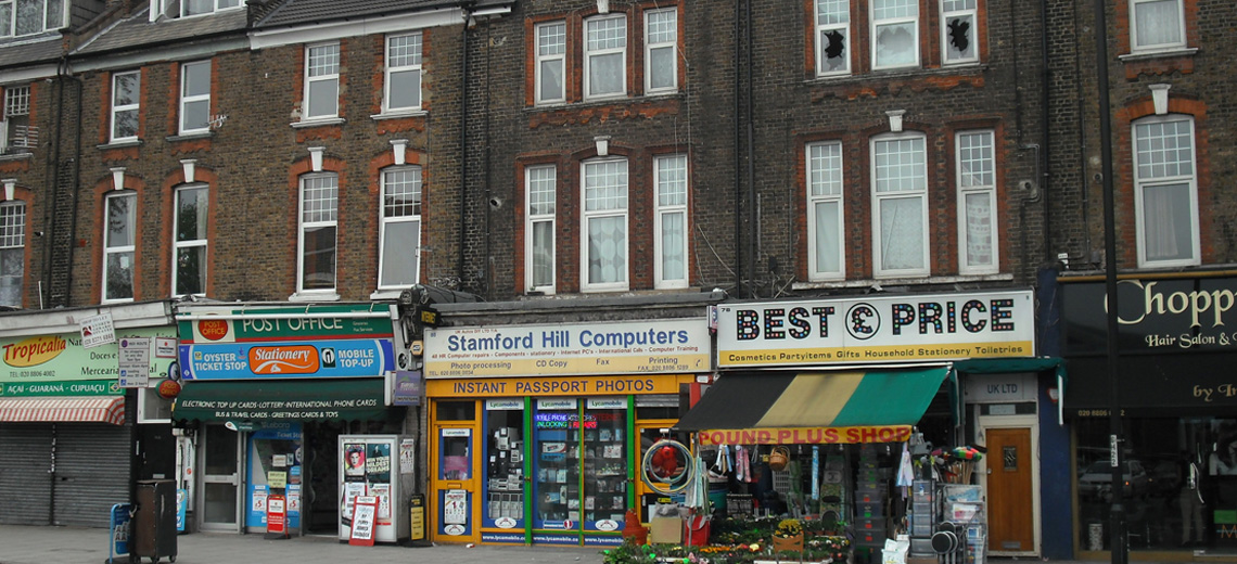 Stamford Hill London Neighborhood Photo