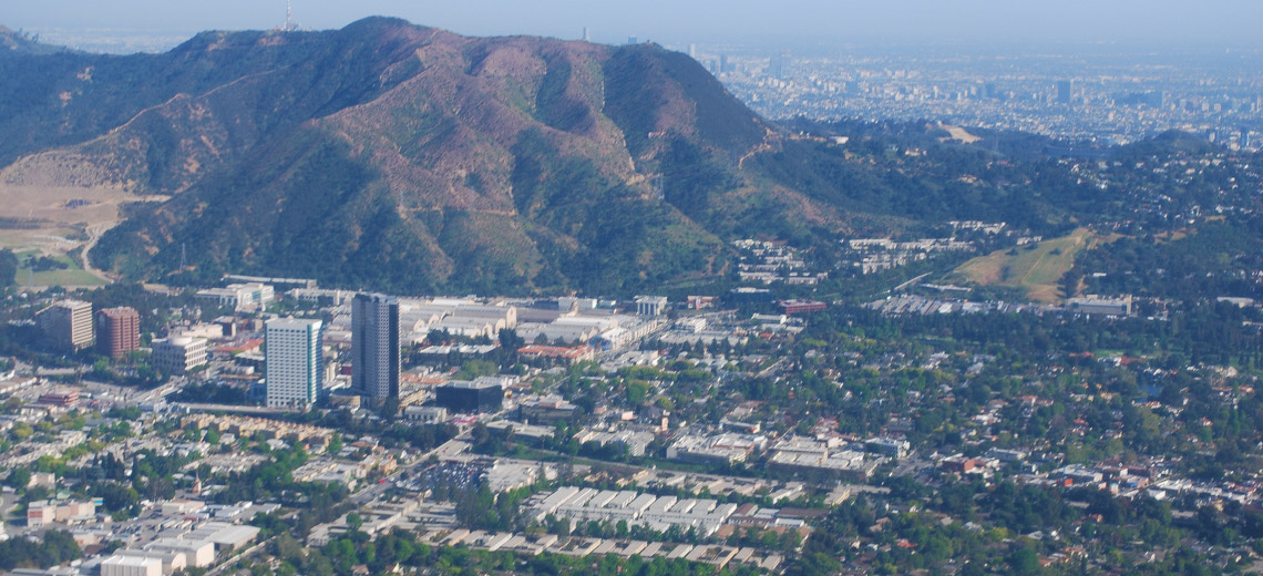 Burbank Los Angeles Neighborhood Photo