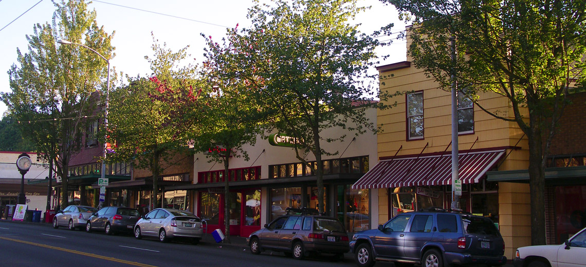 Columbia City Seattle Neighborhood Photo