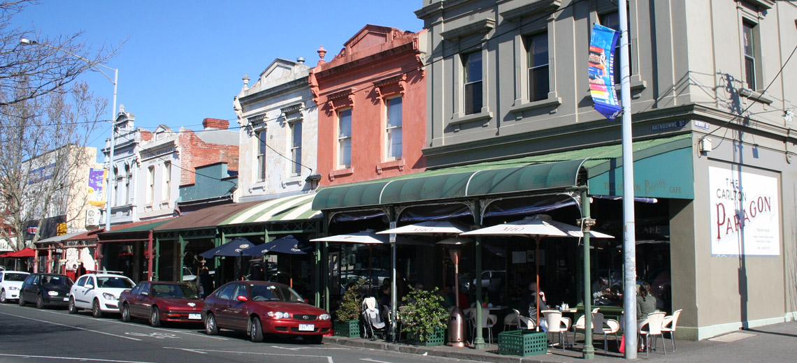 Carlton North Melbourne Neighborhood Photo