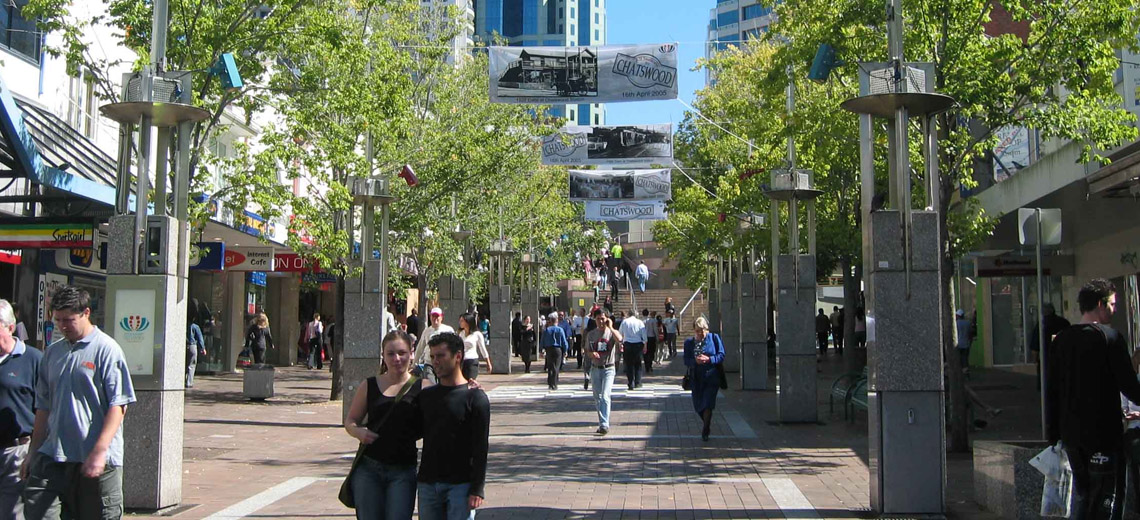 Chatswood Sydney Neighborhood Photo