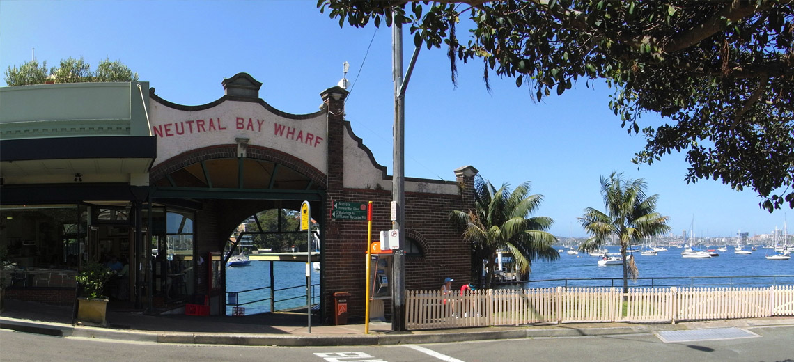 Neutral Bay Sydney Neighborhood Photo