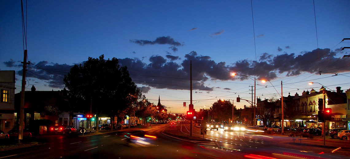 Clifton Hill Melbourne Neighborhood Photo