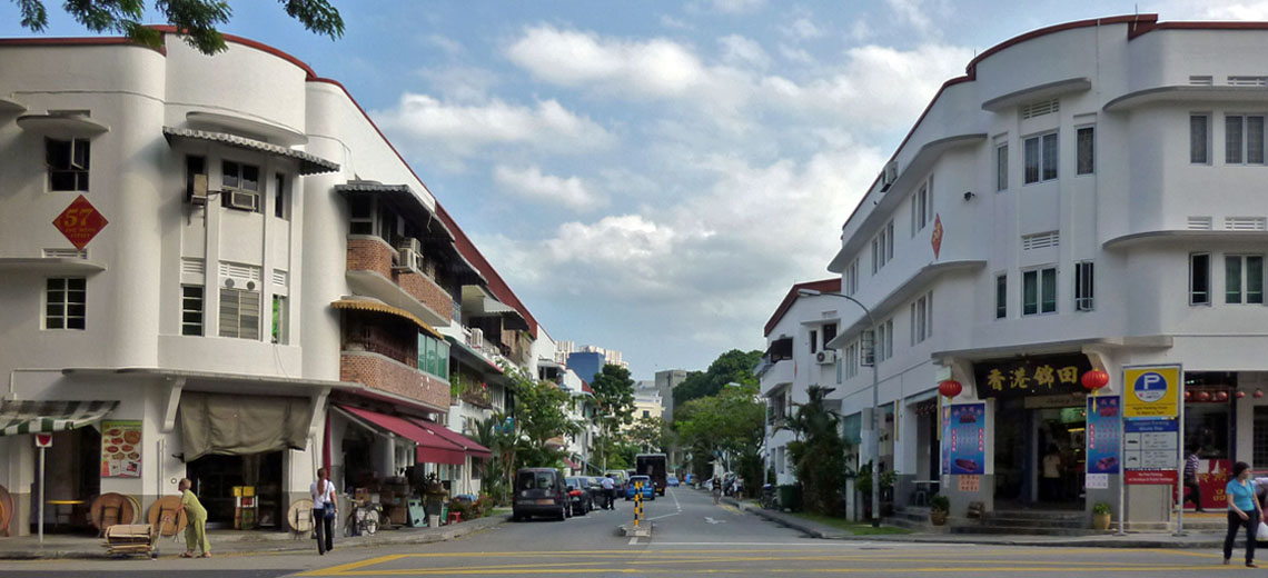 Tiong Bahru Singapore Neighborhood Photo