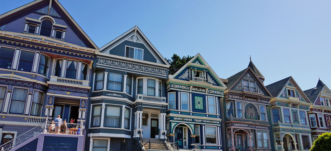 Haight-Ashbury San Francisco Neighborhood Photo
